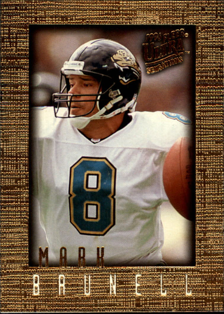 1996 Ultra Sensations #48 Mark Brunell