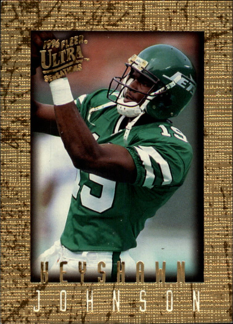 1996 Ultra Sensations #72 Keyshawn Johnson RC