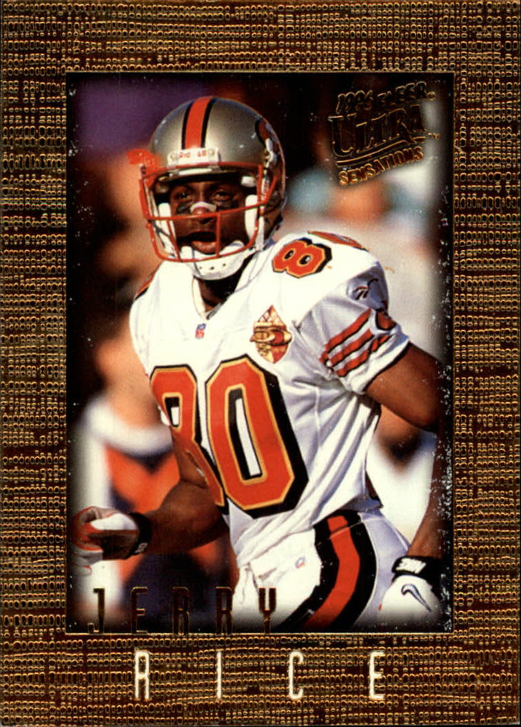 1996 Ultra Sensations #91 Jerry Rice