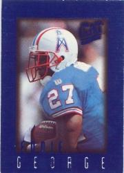 1996 Ultra Sensations Blue #41 Eddie George