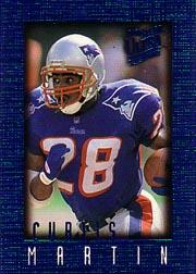 1996 Ultra Sensations Blue #65 Curtis Martin