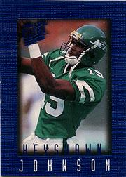 1996 Ultra Sensations Blue #72 Keyshawn Johnson
