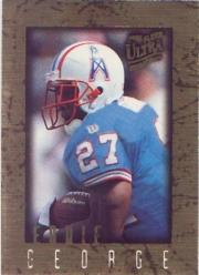 1996 Ultra Sensations Marble Gold #41 Eddie George