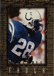 1996 Ultra Sensations Marble Gold #45 Marshall Faulk