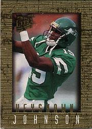 1996 Ultra Sensations Marble Gold #72 Keyshawn Johnson