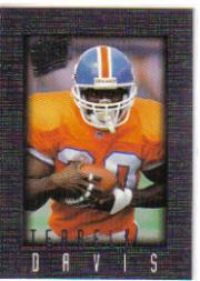 1996 Ultra Sensations Pewter #30 Terrell Davis