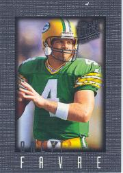 1996 Ultra Sensations Pewter #39 Brett Favre