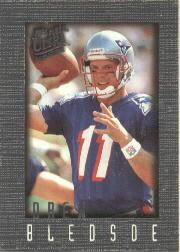 1996 Ultra Sensations Pewter #62 Drew Bledsoe