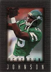 1996 Ultra Sensations Pewter #72 Keyshawn Johnson