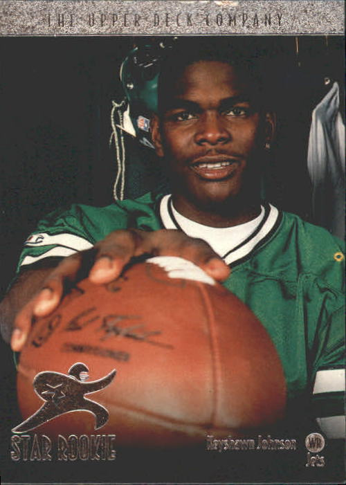 1996 Upper Deck #1 Keyshawn Johnson RC