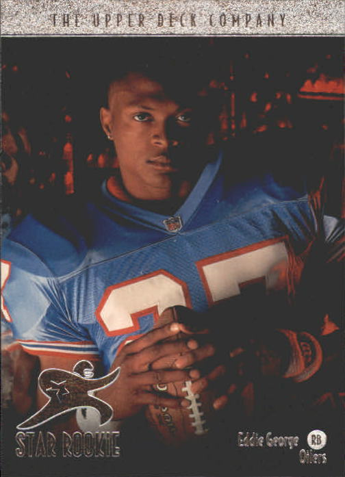 1996 Upper Deck #14 Eddie George RC front image