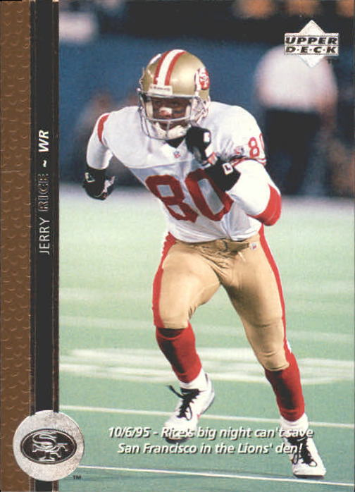 1996 Upper Deck #60 Jerry Rice front image