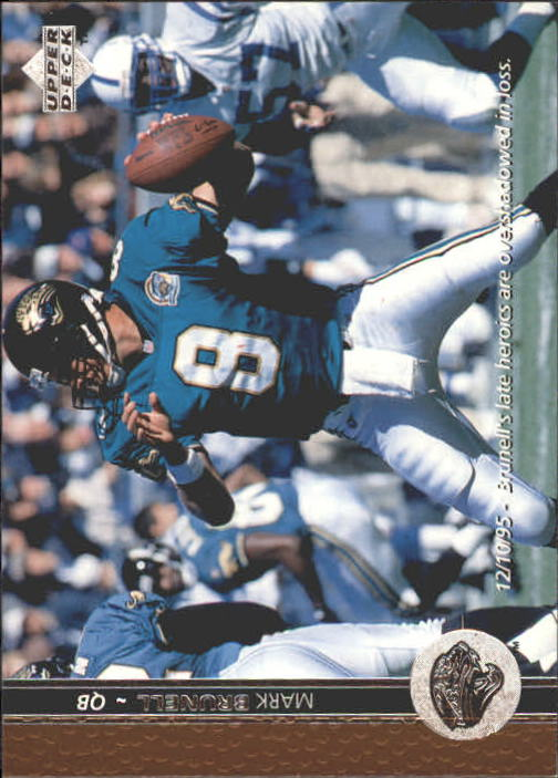 1996 Upper Deck #74 Mark Brunell