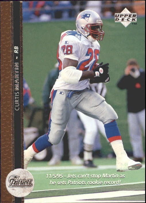 1996 Upper Deck #138 Curtis Martin