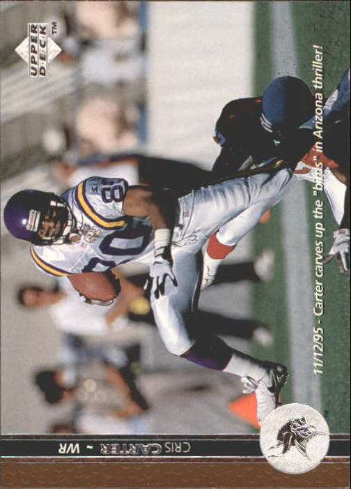 1996 Upper Deck #167 Cris Carter