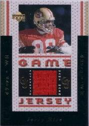 1996 Upper Deck Game Jerseys #GJ2 Jerry Rice Red