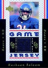 1996 Upper Deck Game Jerseys #GJ5 Rashaan Salaam