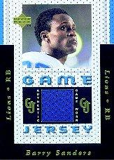 1996 Upper Deck Game Jerseys #GJ9 Barry Sanders