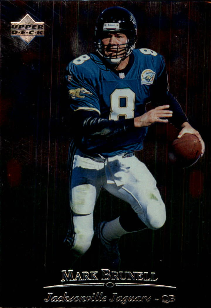 1996 Upper Deck Silver #14 Mark Brunell