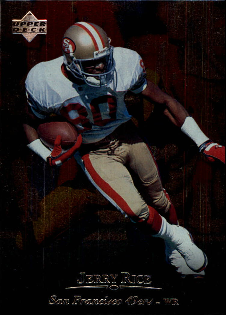 1996 Upper Deck Silver #55 Jerry Rice front image