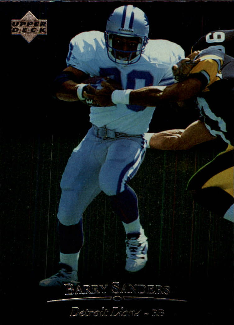 1996 Upper Deck Silver #130 Barry Sanders