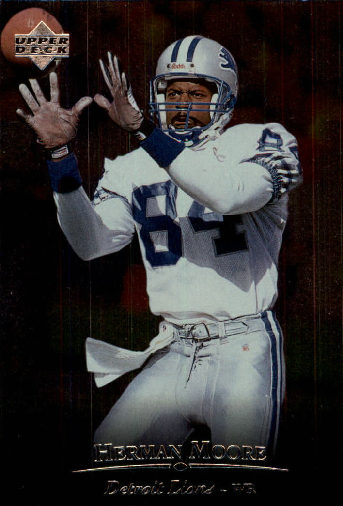 1996 Upper Deck Silver #160 Herman Moore