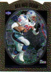 1996 Upper Deck Silver All-NFL #AN12 Curtis Martin