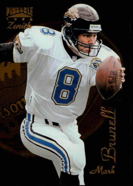 1996 Zenith #41 Mark Brunell