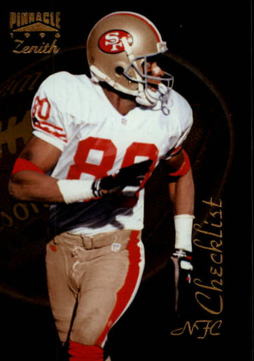1996 Zenith #149 Jerry Rice CL