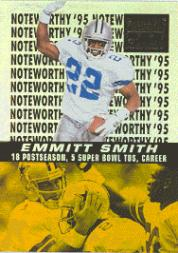 1996 Zenith Noteworthy '95 #16 Emmitt Smith