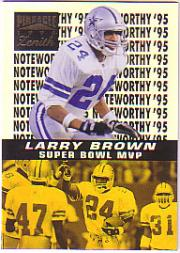 1996 Zenith Noteworthy '95 #18 Larry Brown