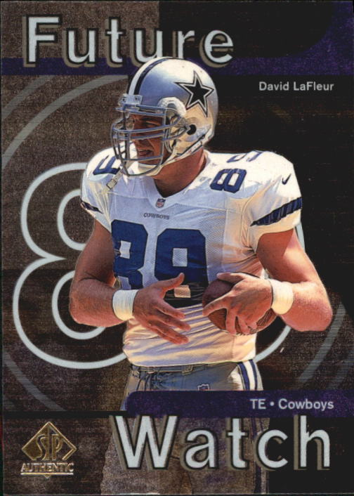 1997 SP Authentic #18 David LaFleur RC