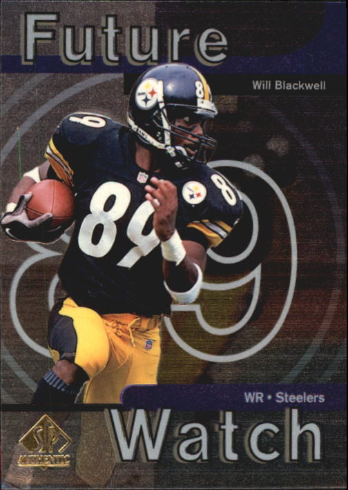 1997 SP Authentic #27 Will Blackwell RC
