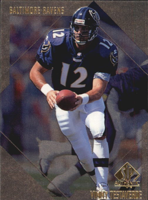 1997 SP Authentic #41 Vinny Testaverde
