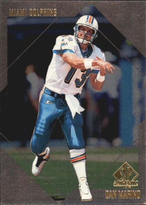 1997 SP Authentic #110 Dan Marino