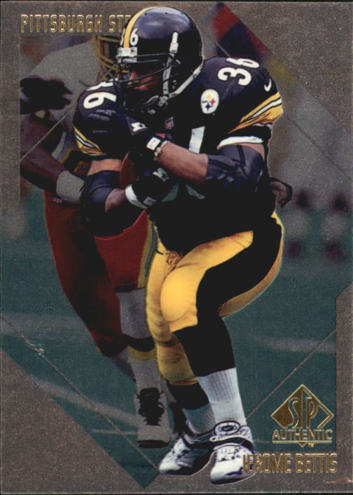 1997 SP Authentic #156 Jerome Bettis
