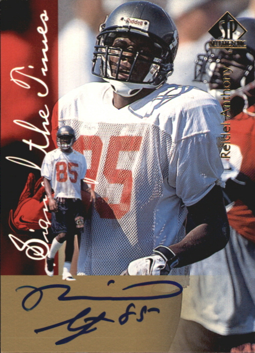 1997 SP Authentic Sign of the Times #4 Reidel Anthony