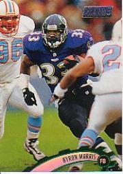 1997 Stadium Club #285 Byron Bam Morris