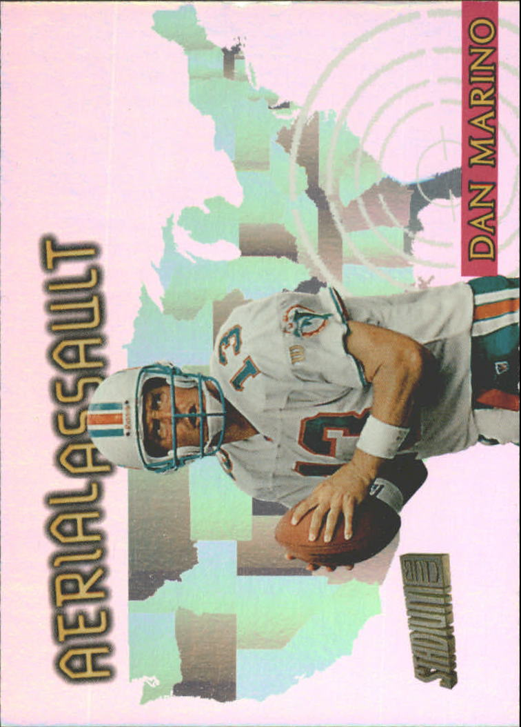 1997 Stadium Club Aerial Assault #AA1 Dan Marino
