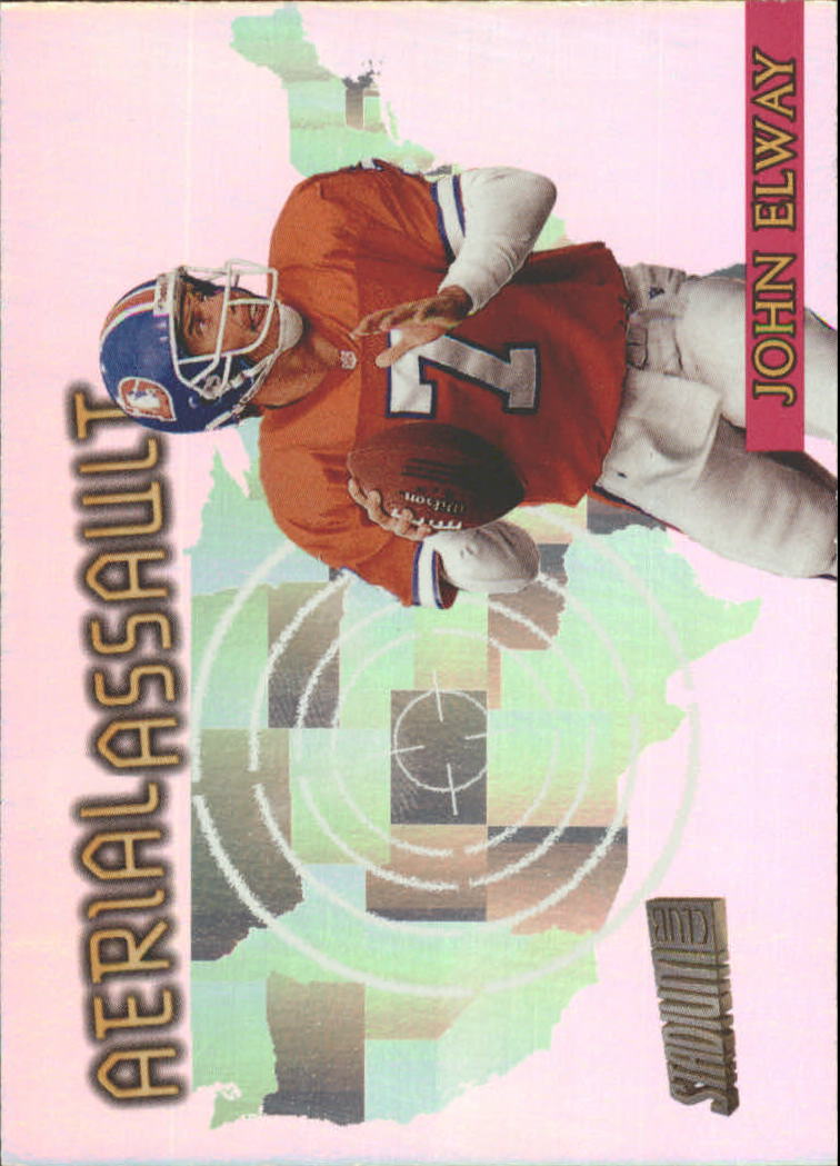 1997 Stadium Club Aerial Assault #AA5 John Elway
