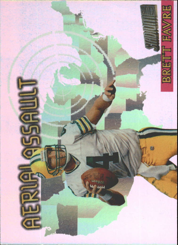 1997 Stadium Club Aerial Assault #AA10 Brett Favre