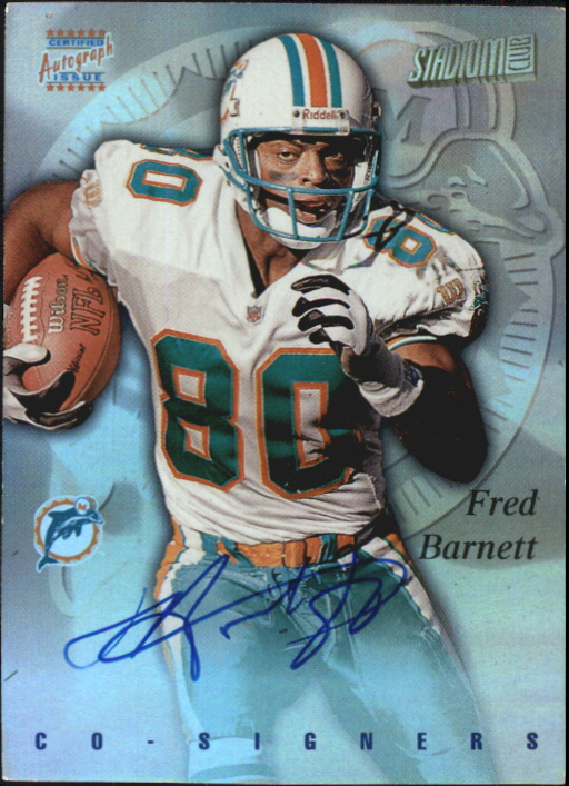 1997 Stadium Club Co-Signers #CO75 Fred Barnett/Amani Toomer