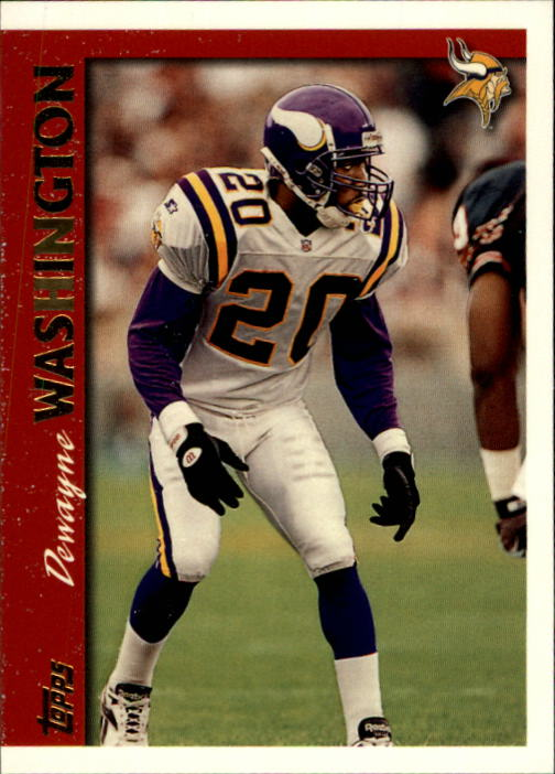 1997 Topps #314 Dewayne Washington