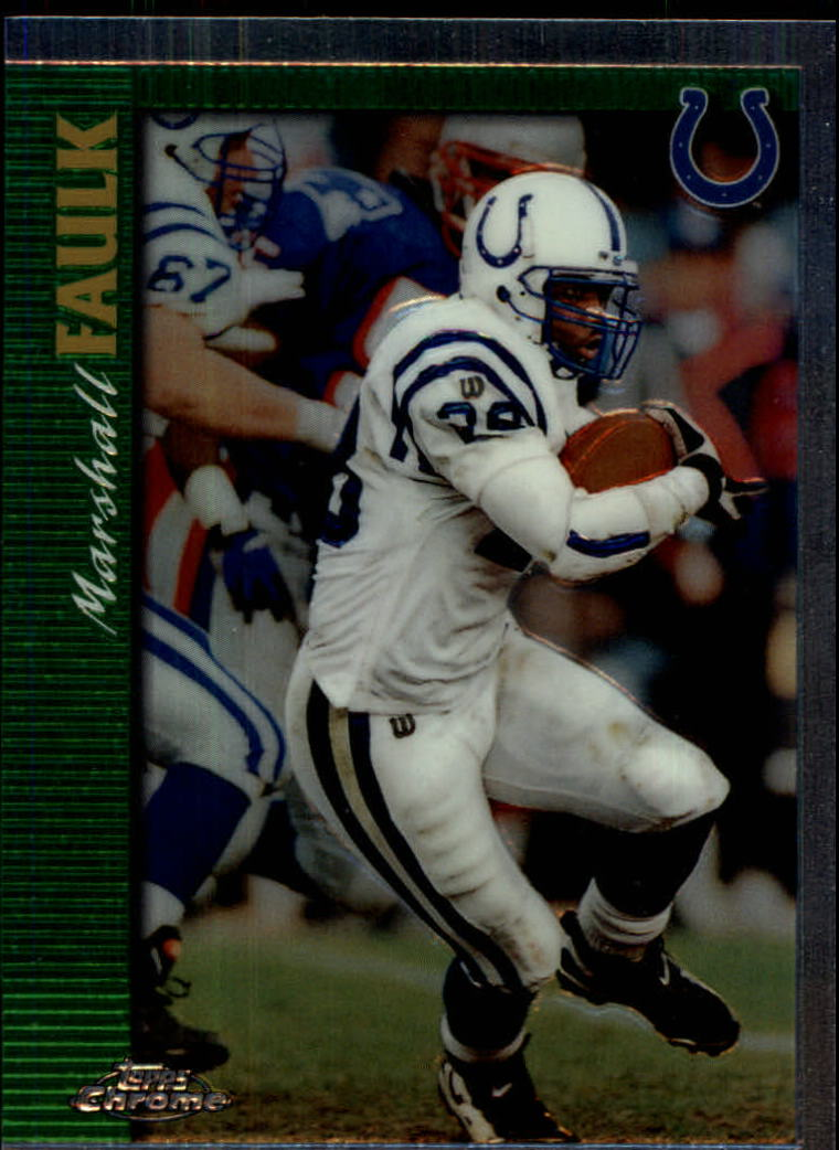 1997 Topps Chrome #4 Marshall Faulk