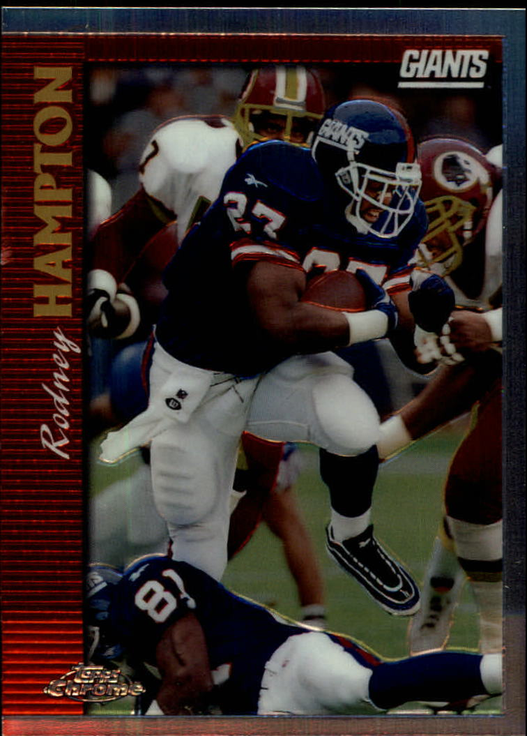 1997 Topps Chrome #72 Rodney Hampton