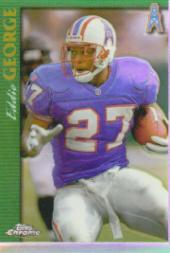 1997 Topps Chrome Refractors #49 Eddie George