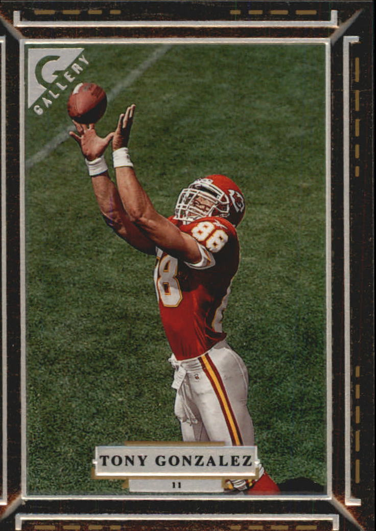1997 Topps Gallery #11 Tony Gonzalez RC
