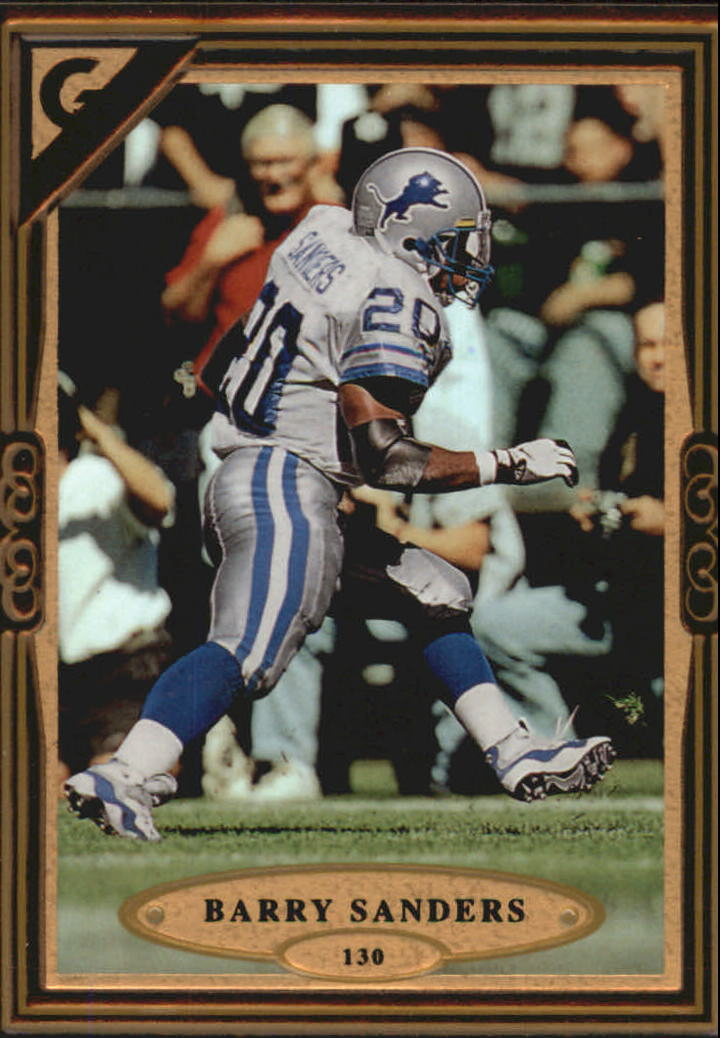 1997 Topps Gallery #130 Barry Sanders