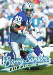 1997 Ultra #45 Barry Sanders
