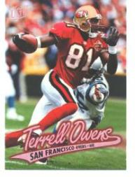 1997 Ultra #56 Terrell Owens